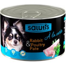 Salutis A La Carte - мясной паштет Салютис с кроликом для собак