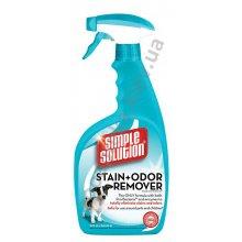 Simple Solution - универсальное средство Симпл Солюшн для удаления запахов и пятен собак