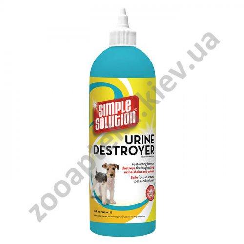 Simple Solution - средство Симпл Солюшн для нейтрализации запахов и пятен мочи собак