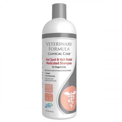 Synergy Labs VF Hot ahd Itch Relif - шампунь болеутоляющий Синерджи Лабс антиаллергенный