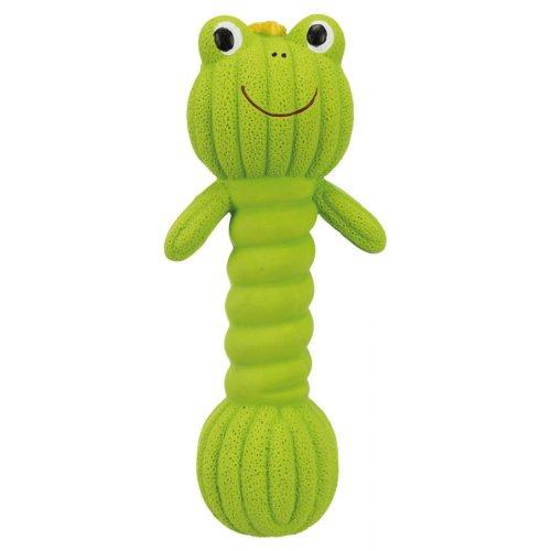 Trixie Dumpbell Frog - латексная лягушка Трикси для собак