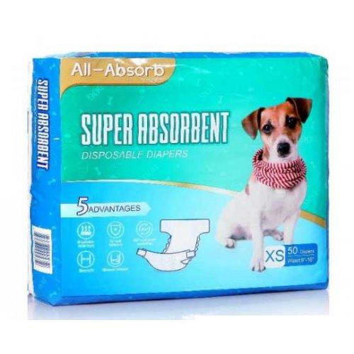 All Absorb - памперсы Олл-Абсорб для собак (сук)