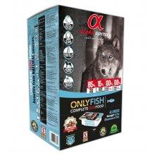 Alpha Spirit Only Fish - полувлажный корм Альфа Спирит Только Рыба для собак