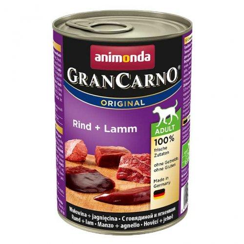Animonda Gran Carno Adult - консервы Анимонда с говядиной и ягненком для собак