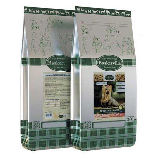 Baskerville Adult Small Breed - сухой корм Баскервиль для собак малых пород
