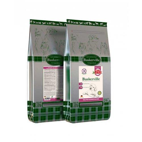 Baskerville Grain Free Welpen - сухой корм Баскервиль для щенков мелких пород