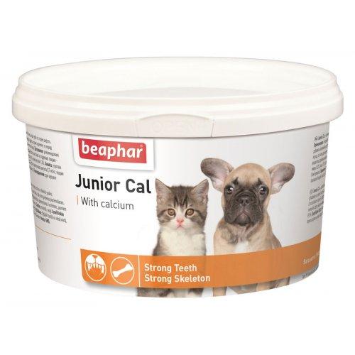 Beaphar Junior Cal - пищевая добавка Бифар для щенков и котят