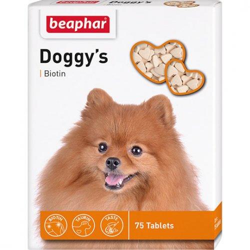 Beaphar Doggys Biotin - витаминизированное лакомство Бифар для собак