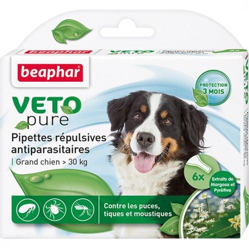 Beaphar Pipettes Repulsives Antiparasitaires - капли Бифар для собак крупных пород