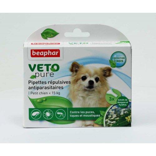 Beaphar Pipettes Repulsives Antiparasitaires Petit Chien < 15kg - капли Бифар для собак мелких пород