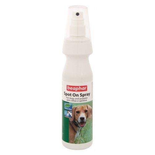Beaphar Bio Spot On Spray For Dogs - натуральный спрей Бифар от блох для собак