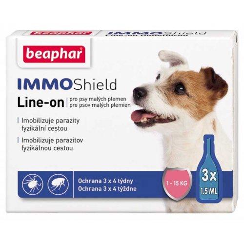 Beaphar IMMO Shield - капли от блох и клещей Бифар для собак