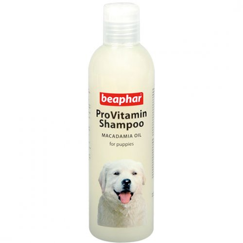 Beaphar Pro Vitamin Shampoo Macadamia Oil for Puppies - мягкий шампунь Бифар для щенков