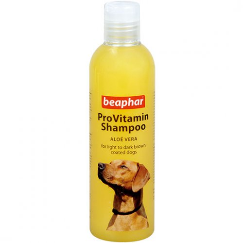 Beaphar Pro Vitamin Shampoo Yellow/Gold - шампунь Бифар с алоэ вера для собак