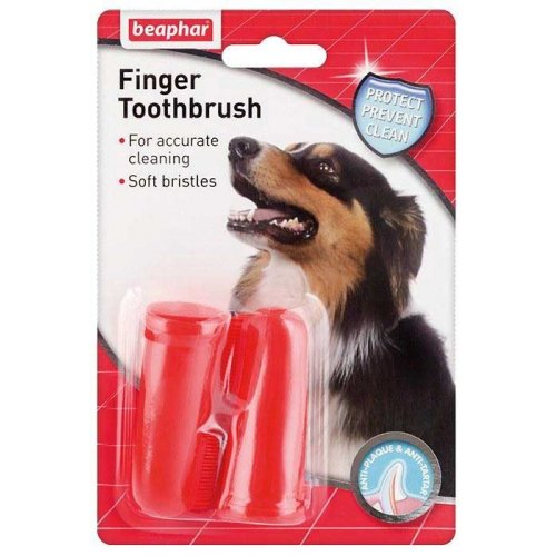 Beaphar Finger Toothbrush - зубная щетка на палец Бифар для собак