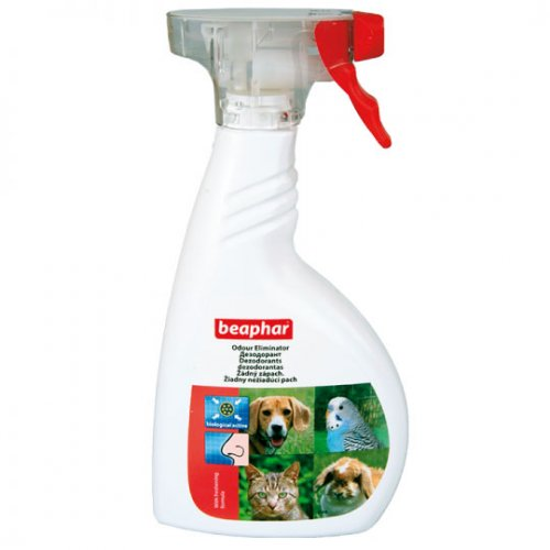 Beaphar Odour Eliminator - спрей Бифар для уничтожения неприятных запахов