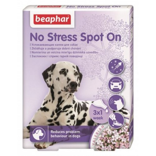Beaphar No Stress - капли антистресс Бифар для собак