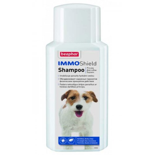 Beaphar IMMO Shield - шампунь антипаразитарный Бифар для собак