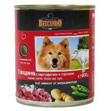 Belcando - консервы Белькандо Говядина с картофелем и горохом для собак
