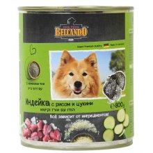 Belcando - консервы Белькандо Индейка с рисом и цукини для собак