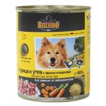 Belcando - консервы Белькандо Курица и утка с пшеном и морковью для собак