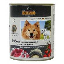 Belcando - консервы Белькандо Ягненок с рисом и помидорами для собак