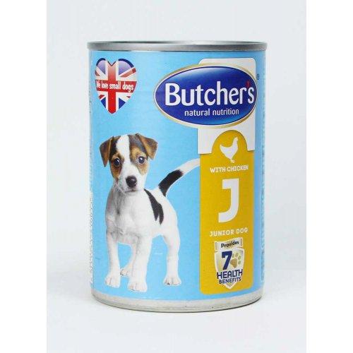 Butchers Dog Chicken Junior - консервы Батчерс с курицей для щенков