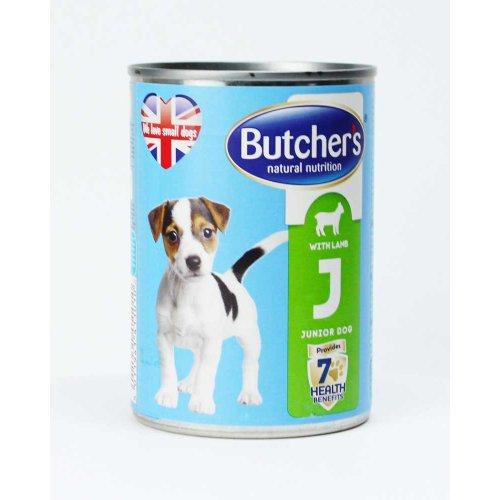 Butchers Dog Lamb Junior - консервы Батчерс с ягненком для щенков