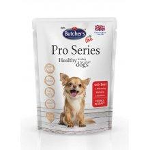 Butchers Dog Pro Series - консервы Батчерс кусочки с говядиной в соусе для собак мелких пород