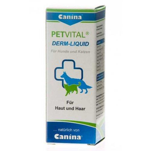 Canina Petvital Derm Liquid - Канина Петвиталь Дерм-Ликвид в каплях