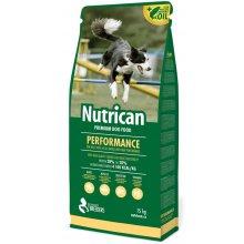 Nutrican Performance - корм Нутрикан для взрослых активных собак всех пород