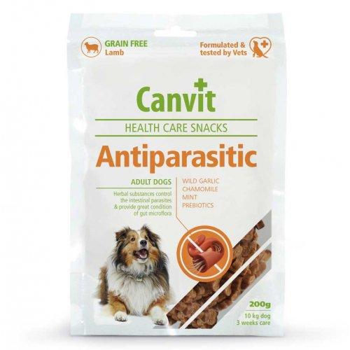 Canvit Antiparasitic - лакомство Канвит для собак с чувствительным пищеварением