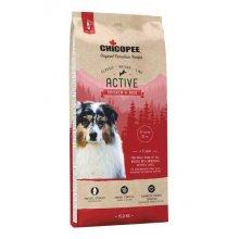 Chicopee CNL Adult Active Chicken and Rice - корм Чикопи Классик для активных собак