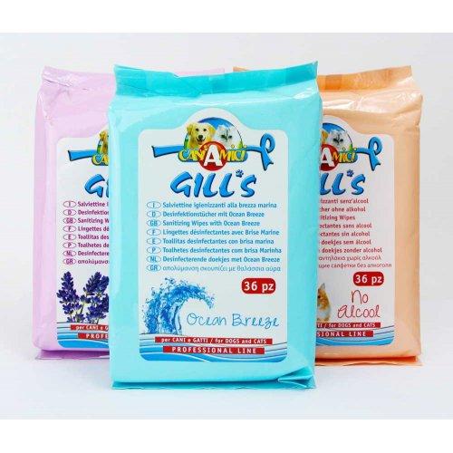 Croci - дезинфицирующие салфетки с ароматом лаванды Кроки для собак и кошек