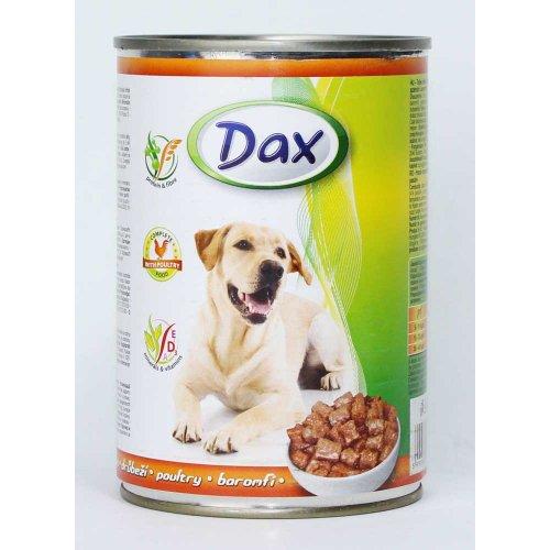 Dax - полноценный корм Дакс для собак, с курицей