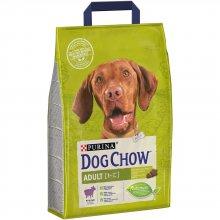 Dog Chow Adult Lamb - корм Дог Чау с ягненком для взрослых собак