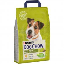 Dog Chow Adult Small Breed - корм Дог Чау для собак мелких пород с курицей