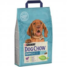 Dog Chow Puppy Lamb - корм Дог Чау с ягненком для щенков