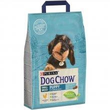 Dog Chow Puppy Small Breed - корм Дог Чау для щенков мелких пород с курицей
