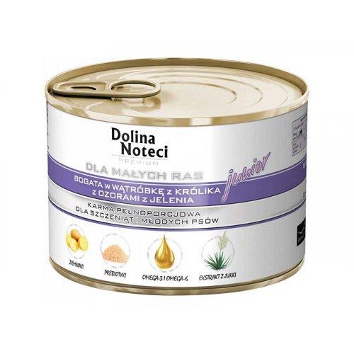 Dolina Noteci Premium - корм для щенков Долина Нотечи с печенью кролика и олениной