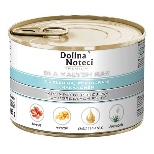 Dolina Noteci Premium - корм для собак Долина Нотечи с телятиной, помидорами и макаронами