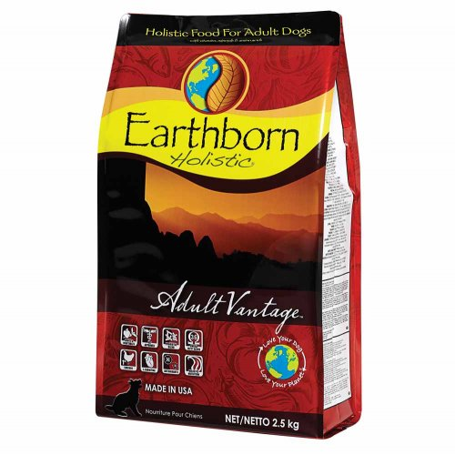 Earthborn Holistic Adult Vantage - корм Ерсборн Холистик с курицей для взрослых собак