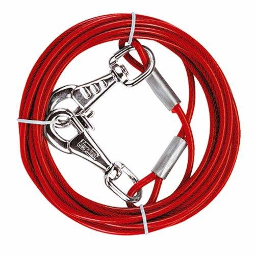 Ferplast Plastified Steel Cable - суперпрочный кабель Ферпласт для привязи собак