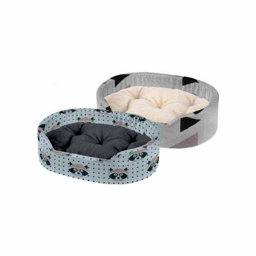 Ferplast Dandy F - лежанка Ферпласт с бортиком для кошек и собак