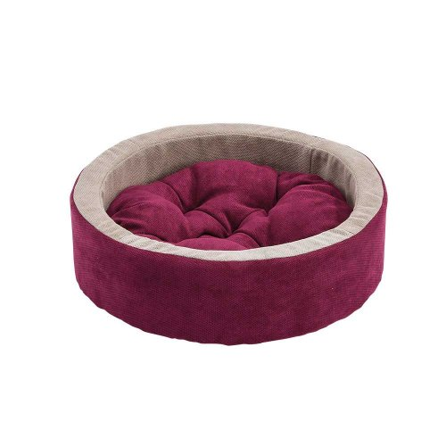 Ferplast Dodo Bedding Fucsia - лежанка с бортиком Ферпласт для кошек и собак