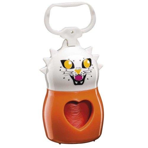 Ferplast Dudu Animals Tiger - пластиковый контейнер для пакетов Ферпласт Тигр