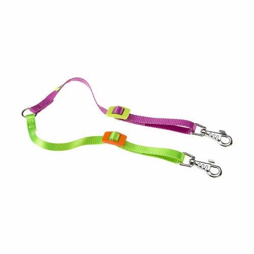 Ferplast Twin Colours - поводок-спарка Ферпласт для двух собак