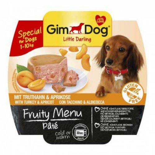 Gimpet Fruity Menu - паштет Джимпет с индейкой и абрикосом для собак