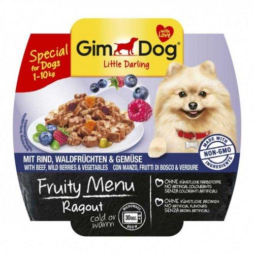 Gimpet Fruity Menu - консервы Джимпет с говядиной, лесными ягодами и овощами для собак