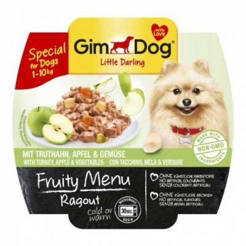 Gimpet Fruity Menu - консервы Джимпет с индейкой, яблоками и овощами для собак